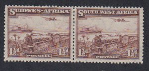Southwest Africa - 1937 - SC 110 - HR