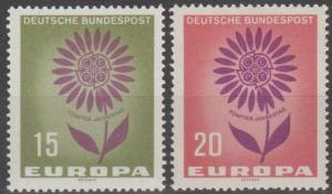 Germany #897-8  MNH VF (ST2419)