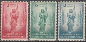 Philippine Islands #500-02 F-VF Unused  (K1190)