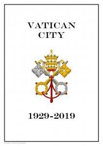 VATICAN CITY 1929 - 2019  PDF (DIGITAL) STAMP  ALBUM PAGES  (201 pages)