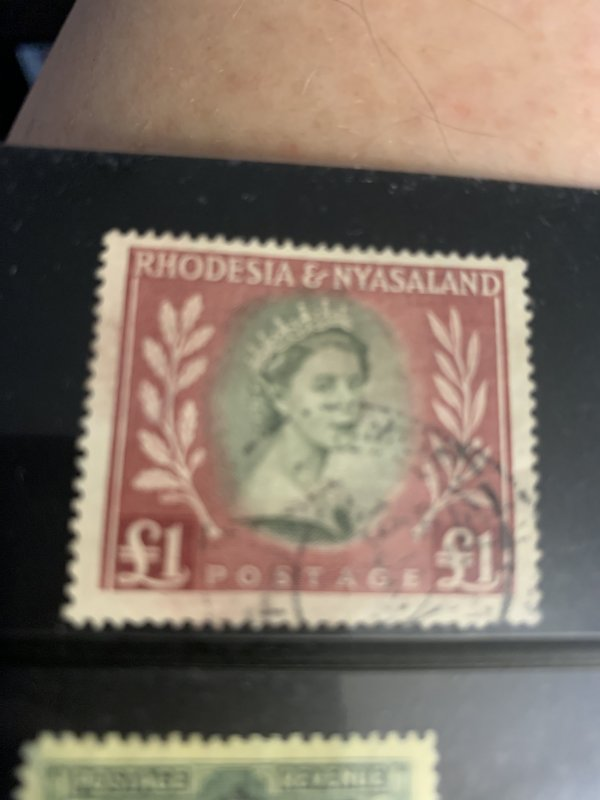 Rhodesia & Nyasaland 155 U