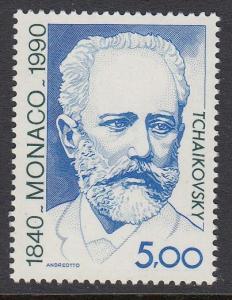 Monaco 1742 Tchaikovsky mnh