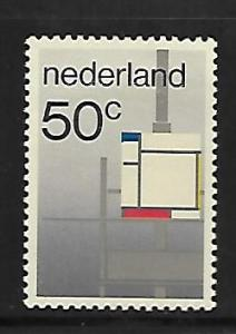 NETHERLANDS, 652, MNH, MODERN ART MOVEMENT