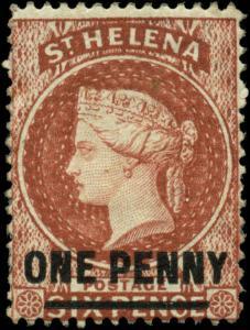 Saint Helena Scott #35 Mint