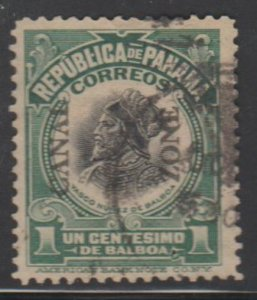 U.S. Canal Zone Scott #46 Possession Stamp - Used Single