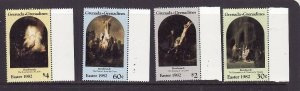 Grenada Grenadines-Sc#504-7-unused NH set-Easter-Paintings-1982-