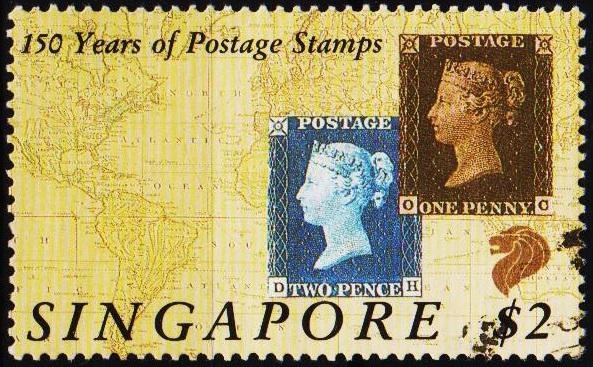 Singapore. 1990 $2 S.G.622 Fine Used