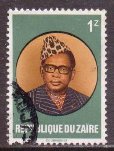 Zaire    #890  used  (1978)  c.v. $0.70