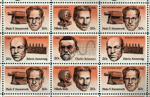 US Scott 2055 American Inventors Full Sheet of 50 Mint NH