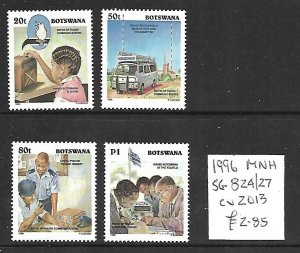 Botswana MNH 824-7 Birth Of Radio Communication 1996