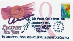 2016, Mothers Day Breast Cancer Walk, Lockport NY, 20 Years, 16-127