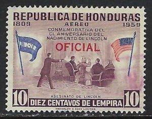 Honduras CO102 VFU Z5102-2