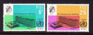 FIJI 1966 W.H.O.   SET 2  MH