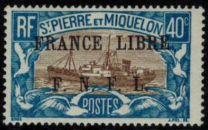 St Pierre & Miquelon #209 M/H 25% of SCV $17.50 **FREE SHIPPING**