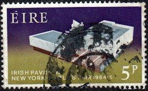 Ireland #194 Irish Pavillion, used.