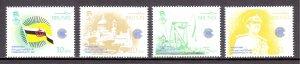 Brunei - Scott #290-293 - MNH - SCV $6.35
