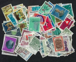 Luxembourg Collection of 150 Different Pictorial Stamps