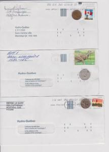 CANADA COVERS ODDITIES CENDERELLAS STAMPS LOT#C-200
