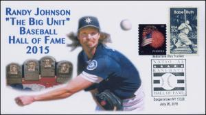 2015, Baseball Hall Of Fame, Randy Johnson, Cooperstown NY, 15-346