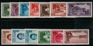 Vietnam 1894 SC 1-13 MNH SCV $175