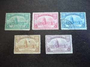 Stamps - Cuba - Scott# 294-298 - Used Set of 5 Stamps