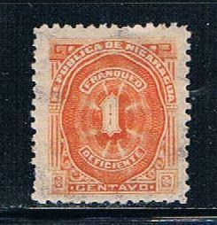 Nicaragua J8 LH Numeral (N0157)