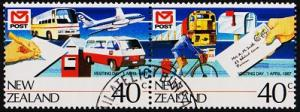 New Zealand. 1987 40c(Pair) S.G.1421/1422  Fine Used