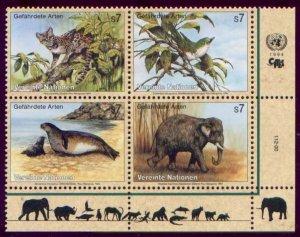 1994 UN Vienna 162-65VB Fauna 5,00 €