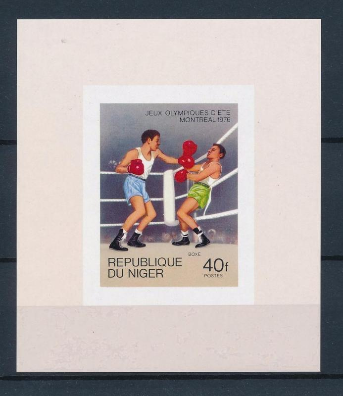[55738] Niger 1976 Olympic games Montreal Boxing MNH Sheet