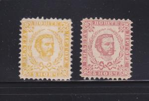 Montenegro 1, 3 MNG Prince Nicholas I (B)