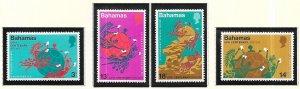 Bahamas #358-361    (MNH)  CV$1.20