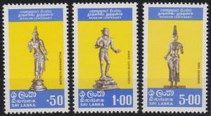 Sri Lanka 515-517 MNH (1977)