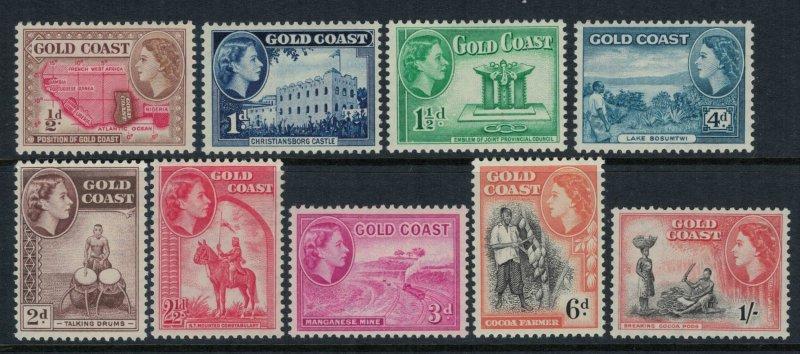 Gold Coast #148-56*  CV $6.60