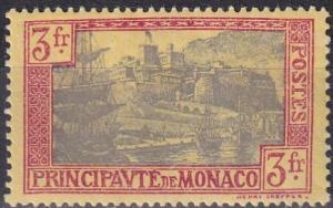 Monaco #90  F-VF Unused CV $25.00  Z786