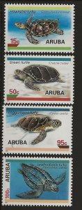 ARUBA  SC #  126 - 9    MNH