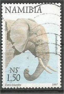NAMIBIA, 1997, used $1.50,  Elephant Scott 866