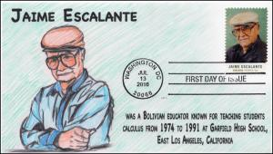 2016, Jaime Escalante, Educator, Calculus, Garfield High School CA, 16-238