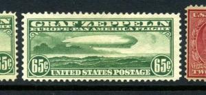 Scott C13 Graf Zeppelin Mint Stamp  (Stock C13-20)