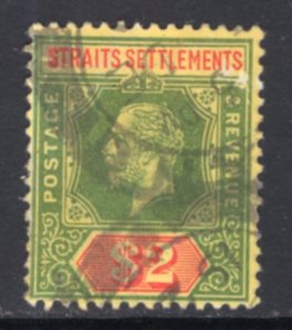 Straits Settlements 166 Used BIN