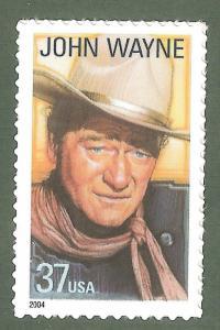 3876 John Wayne US Single Mint/nh FREE SHIPPING