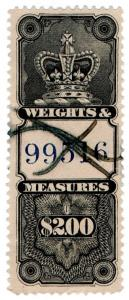 (I.B-CK) Canada Revenue : Weights & Measures $2