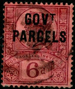 SGO66, 6d purple/rose-red, USED. Cat £75.