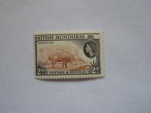 BRITISH HONDURAS STAMP  MINT HINGE MARKS. # 14