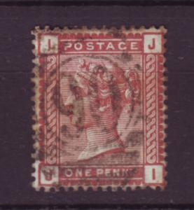 J19774 Jlstamps 1880-1 great britain used #79 queen