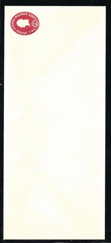 U533A, DIE 1, P. O. FRESH ENVELOPE, UNUSED, SHIP $1.00