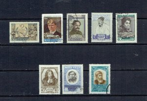 RUSSIA - 1958 SINGLES FROM 1958 - SCOTT 2143//2145 - USED - SEE DESCRIPTION