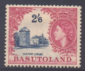 Basutoland Scott 54 - SG51, 1954 Elizabeth II 2/6d MH*