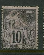 French Colonies #50 Used