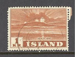 Iceland Sc # 251 used (RS)