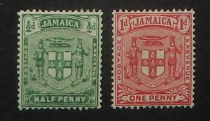 Jamaica 58-59. 1906 Arms